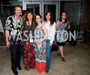 Bradley Ralph,Bari Biern,Lauren Shmalo,Gloria Ralph,Opening Night Of Silver Docs,June 20,2011,Kyle Samperton