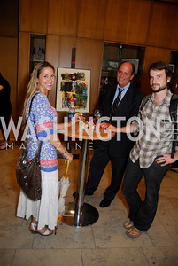 Sara Crosby,Larry Parnell,Josef Crosby,Opening Night Of Silver Docs,June 20,2011,Kyle Samperton
