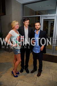 Lynzi Elizabeth Stevens,Chris Dapkins,Nick August Perna,Opening Night Of Silver Docs,June 20,2011,Kyle Samperton