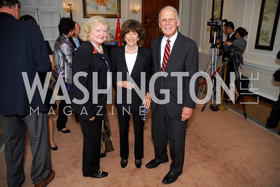 Judith Hope,Didi Cutler,Lloyd Cutler,Opening of China Town  At Meridian,September 22,2011,Kyle Samperton