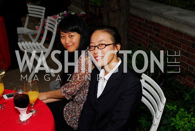 Joanna Kwan,Zou Menggi,Opening of China Town  At Meridian,September 22,2011,Kyle Samperton