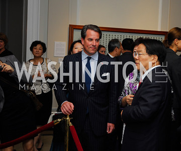 Stuart Holiday,Cai -Wu,Opening of China Town  At Meridian,September 22,2011,Kyle Samperton