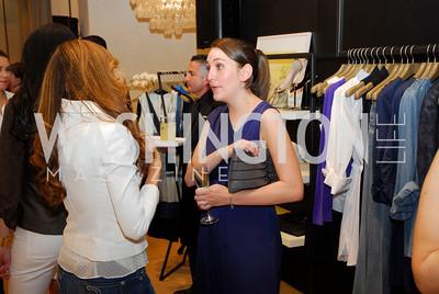 Sara Lange, Opening of Elie Tahari Boutique, Tysons Galleria, April 27, 2011, Kyle Samperton