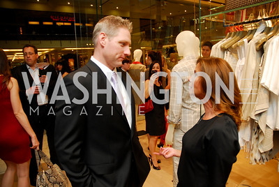 Rich Dinning, Lynda Erkiletran, Opening of Elie Tahari Boutique, Tysons Galleria, April 27, 2011, Kyle Samperton