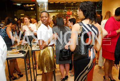 Aisha Wolo, Opening of Elie Tahari Boutique, Tysons Galleria, April 27, 2011, Kyle Samperton