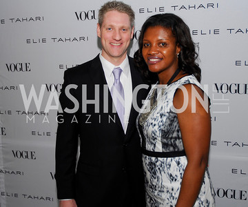 Rich Dinning, Aba Kwawu, Opening of Elie Tahari Boutique, Tysons Galleria, April 27, 2011, Kyle Samperton