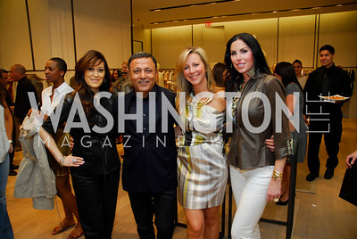 Nancy Kiode, Elie Tahari, Jean-Marie Fernandez, Amy Baier, Opening of Elie Tahari Boutique, Tysons Galleria, April 27, 2011, Kyle Samperton