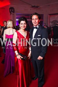 Shamim and Said Jawad. Photo by Tony Powell. Opera Ball. Embassy of China. May 7, 2011