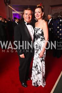 Rep. Ed Royce and Marie Royce. Photo by Tony Powell. Opera Ball. Embassy of China. May 7, 2011