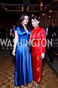 Jaclyn and JoAnn Mason. Photo by Tony Powell. Opera Ball. Embassy of China. May 7, 2011