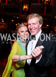 Olga and Bob Ryan. Photo by Tony Powell. Opera Ball. Embassy of China. May 7, 2011