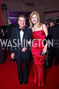 Calvin and Jane Cafritz. Photo by Tony Powell. Opera Ball. Embassy of China. May 7, 2011