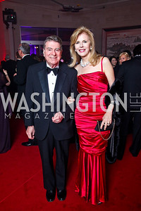 Calvin and Jane Cafritz. Photo by Tony Powell. Opera Ball. Embassy of China. May 7, 2011