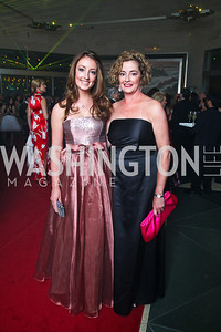 Skye and Alison Stansbury. Photo by Tony Powell. Opera Ball. Embassy of China. May 7, 2011