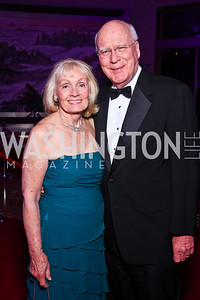 Marcelle and Sen. Patrick Leahy. Photo by Tony Powell. Opera Ball. Embassy of China. May 7, 2011
