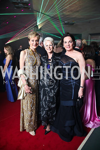 Cynthia Friedman, Regina Porten, Grace Bender. Photo by Tony Powell. Opera Ball. Embassy of China. May 7, 2011