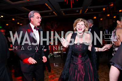 Dr. David Reines and Nina Totenberg. Photo by Tony Powell. Opera Ball. Embassy of China. May 7, 2011