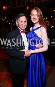 Rep. Dennis Kucinich and Elizabeth Kucinich. Photo by Tony Powell. Opera Ball. Embassy of China. May 7, 2011