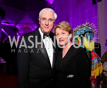 Irish Amb. Michael Collins and Marie Collins. Photo by Tony Powell. Opera Ball. Embassy of China. May 7, 2011
