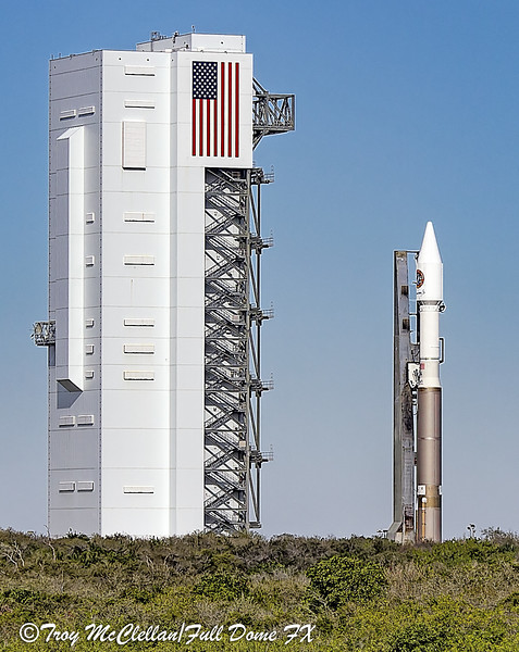 Atlas V Orbital/ATK OA-6 Rollout