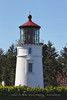 Umpqua River Lighthouse and Its Red and White First-Order Fresnel Lens