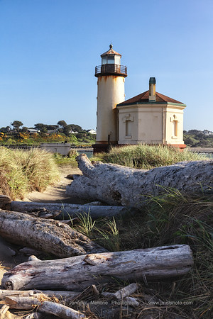 The Retired Coquille River Lighthouse in Bandon