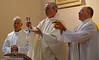 Fr. Koos de Rooij, Fr. John van den Hengel and Fr. Stephen Huffstetter