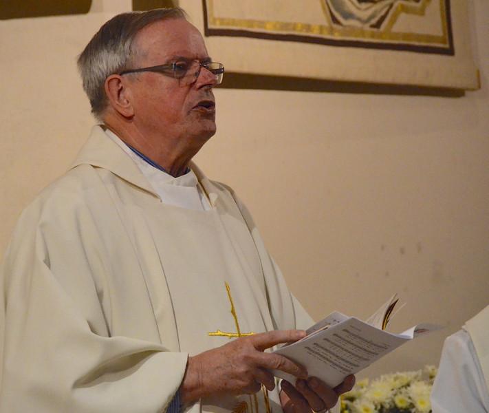 Fr. John van den Hengel was the main celebrant at the opening Mass.