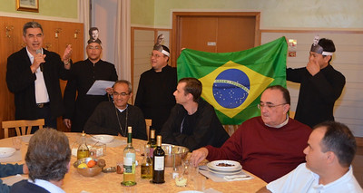 The major superiors of the provinces of Brazil introduce themselves