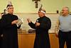 Fr, José Carlos asks a few questions of the founder