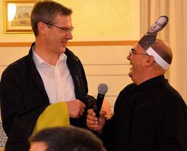 Fr. Heiner and Fr. José Carlos share a laugh