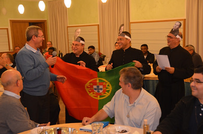 Fr. Zeferino mentions all of the Portuguese serving at the Generalate, including the general superior