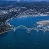 Over Newport, Oregon