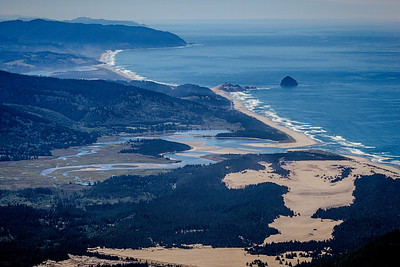Over Pacific City, Oregon