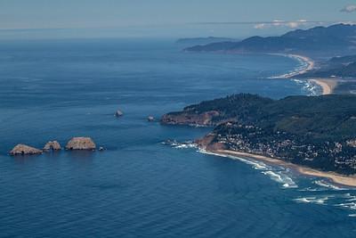 Over Oceanside, Oregon