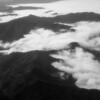 Fog creeps over the Oregon coastal range