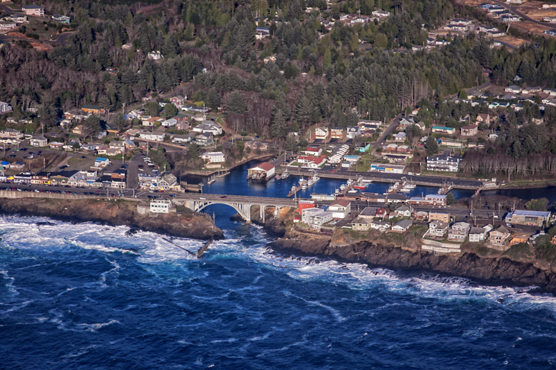 Above Depoe Bay, Oregon