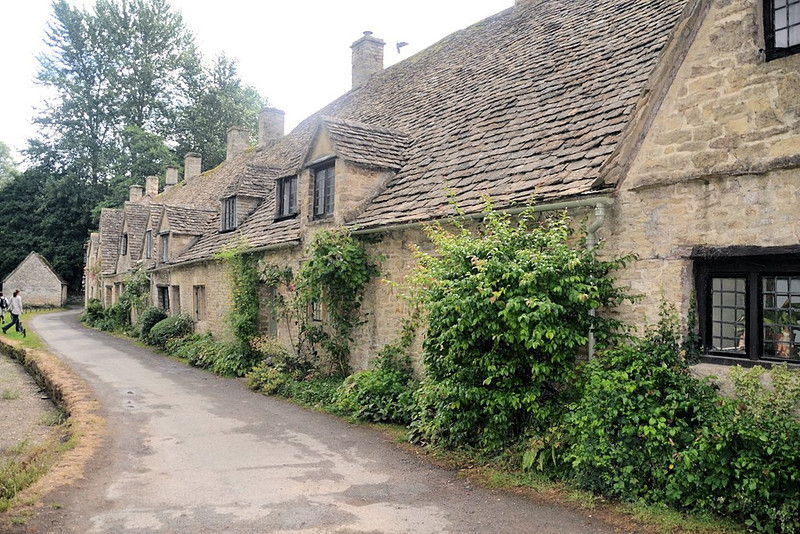 Arlington Row weavers cottages, Bibury
