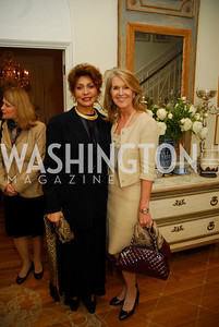 Janet Langhart Cohen,Sydney  McNiff Johnson,November29,2011,PEN/Faulkner Founding Friends Luncheon Honoring Janet Langhart Cohen, Kyle Samperton