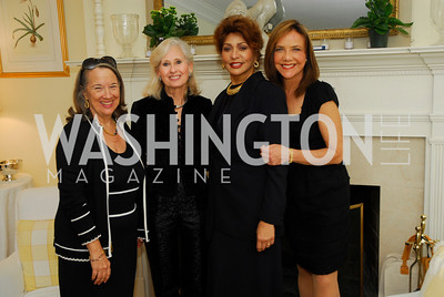 Joanne Leedom-Ackerman,Willee Lewis,Janet Langhart Cohen,Barbara Harrison,November29,2011,PEN/Faulkner Founding Friends Luncheon Honoring Janet Langhart Cohen, Kyle Samperton