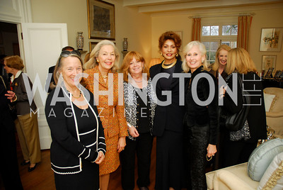 Joanne Leedom,-Ackerman,Nina Pillsbury,Sue Goldman,Janet Langhart Cohen,Willee Lewis,November29,2011,PEN/Faulkner Founding Friends Luncheon Honoring Janet Langhart Cohen, Kyle Samperton