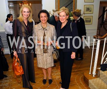Rhona Friedman,Lucky Roosevelt,Kathy Dur,November29,2011,PEN/Faulkner Founding Friends Luncheon Honoring Janet Langhart Cohen, Kyle Samperton