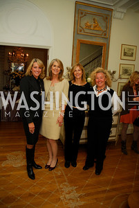 Elizabeth Bagley,Sydney McNiff Johnson,Eileen Shields -West,Tamara Buchwald,November29,2011,PEN/Faulkner Founding Friends Luncheon Honoring Janet Langhart Cohen, Kyle Samperton