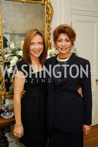 Barbara Harrison,Janet Langhart Cohen,November29,2011,PEN/Faulkner Founding Friends Luncheon Honoring Janet Langhart Cohen, Kyle Samperton