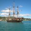 Bounty at anchor, St Thomas