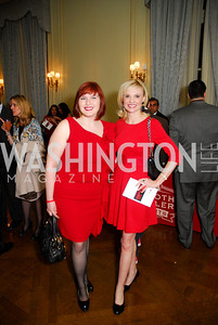 Amanda Pelletier, Andrea Rodgers, Paint the Town Red, November 3, 2011, Kyle Samperton