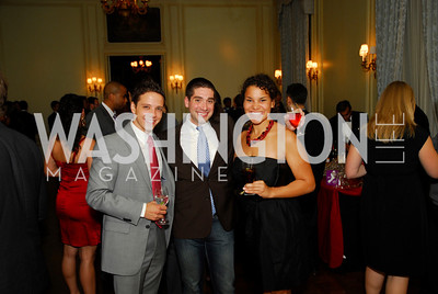 Johnathan Lozier, Jason Bargnes, Jessica Galimore, Paint the Town Red, November 3, 2011, Kyle Samperton