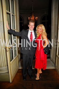 Zeno Baucus, Stephanie Baucus, Paint the Town Red, November 3, 2011, Kyle Samperton