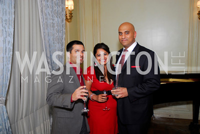 Sameer Gokhale, Tina Rao, Nick Rajpaava, Paint the Town Red, November 3, 2011, Kyle Samperton