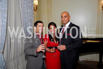 Sameer Gokhale, Tina Rao, Nick Rajpaava, Paint the Town Red, November 3, 2011, Kyle Samperton